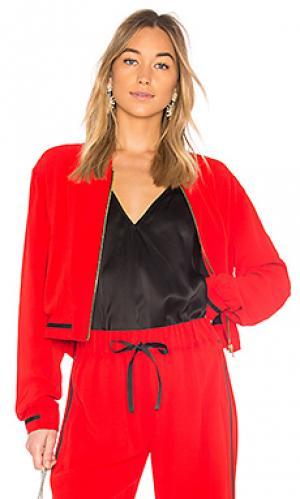 Куртка bently Alexis. Цвет: красный