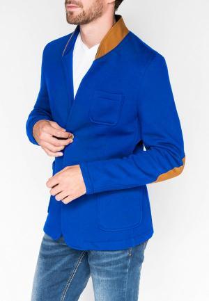 Пиджак Ombre. Цвет: синий