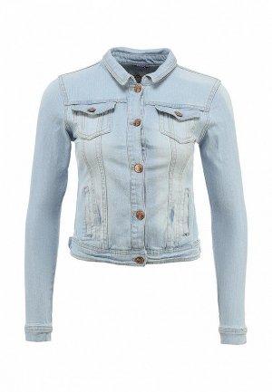 Куртка джинсовая House HO647EWAFI16. Цвет: голубой