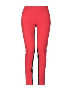 Повседневные брюки GARETH PUGH. Цвет: красный