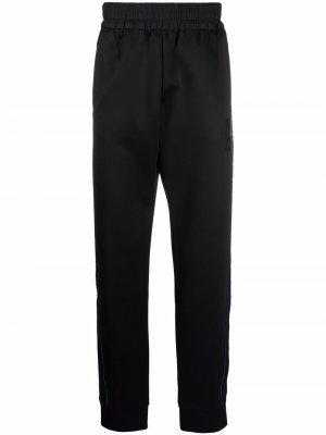Спортивные брюки с нашивкой-логотипом Fendi. Цвет: черный