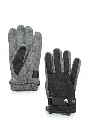 Перчатки Mango Man - DAVID. Цвет: серый