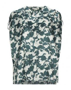 Блузка LA FABRIQUE. Цвет: темно-зеленый