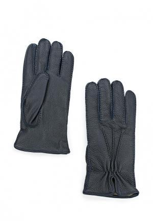 Перчатки Baldinini. Цвет: синий
