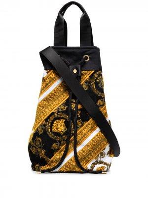 VERS BAROQUE BEACH BAG Versace. Цвет: черный