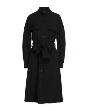 Платье миди BLACK LABEL. Цвет: черный