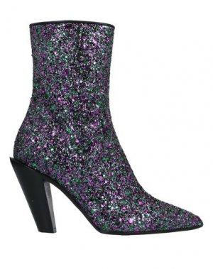 Полусапоги и высокие ботинки A.F.VANDEVORST. Цвет: светло-фиолетовый