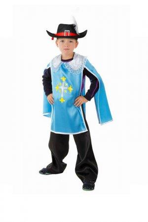 Карнавальный костюм Страна Карнавалия. Цвет: голубой
