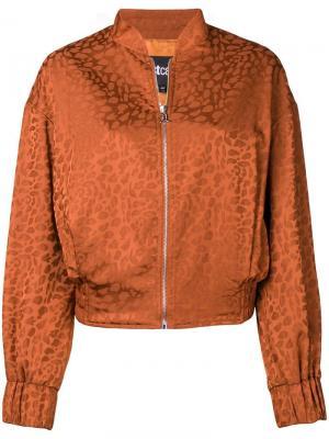 Куртка-бомбер с узором Just Cavalli