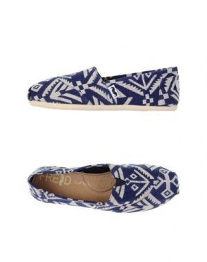Низкие кеды и кроссовки FRED. Цвет: темно-синий