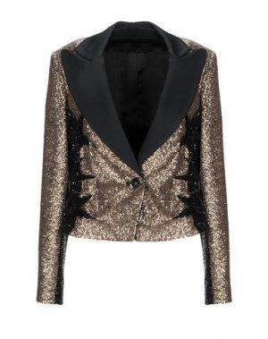 Пиджак ELIE SAAB. Цвет: золотистый