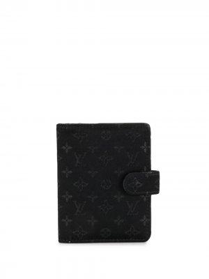 Обложка для блокнота 2002-го года Louis Vuitton. Цвет: черный