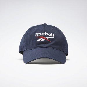 Кепка Active Foundation Badge Reebok. Цвет: vector navy / white
