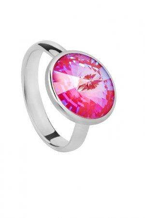 Кольцо Fiore Luna. Цвет: мультицвет, розовый