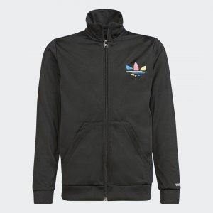 Олимпийка Adicolor Originals adidas. Цвет: черный