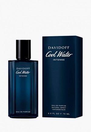 Парфюмерная вода Davidoff Cool Water Men Intens, 75 мл. Цвет: прозрачный
