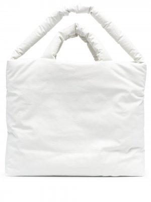Большая сумка-тоут KASSL Editions. Цвет: белый
