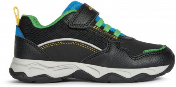 Кроссовки для мальчиков J Calco, размер 32 Geox. Цвет: черный