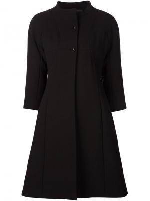 Пальто с рукавами 3/4 Gio Guerreri Gio'. Цвет: чёрный