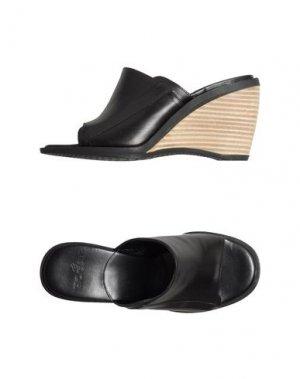 Обувь на танкетке HOGAN. Цвет: черный