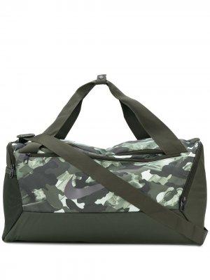 Спортивная сумка Nike. Цвет: зеленый