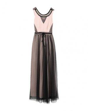 Длинное платье RINASCIMENTO. Цвет: розовый