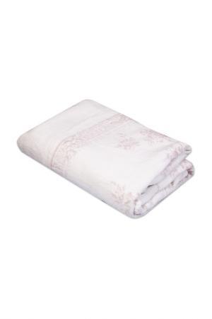 Покрывало-плед 200х210 CASABEL. Цвет: розовый, белый