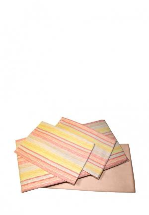 Постельное белье Семейное Tete-a-Tete. Цвет: разноцветный