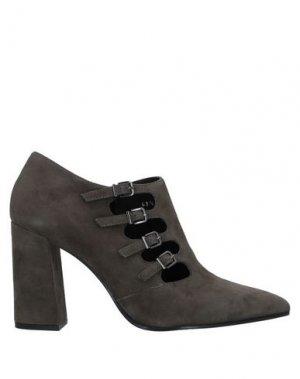 Ботинки BRUNO PREMI. Цвет: свинцово-серый