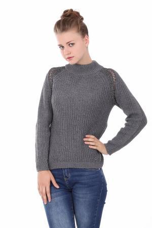 Джемпер Gaudi Jeans. Цвет: серебристый
