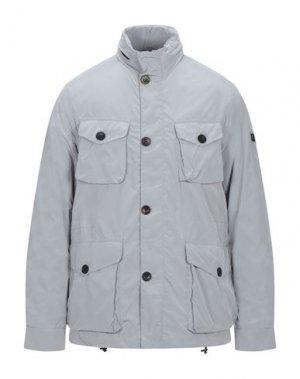 Куртка HETREGO'. Цвет: светло-серый