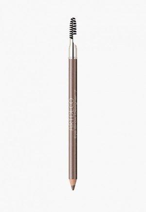 Карандаш для бровей Artdeco с щеточкой Eye Brow Designer, тон 7, 0.8 г. Цвет: бежевый