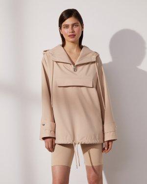 Куртка-анорак 12STOREEZ. Цвет: нюдовый