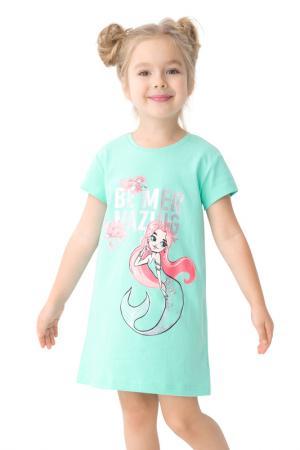 Ночная сорочка Pelican. Цвет: ментол(27)