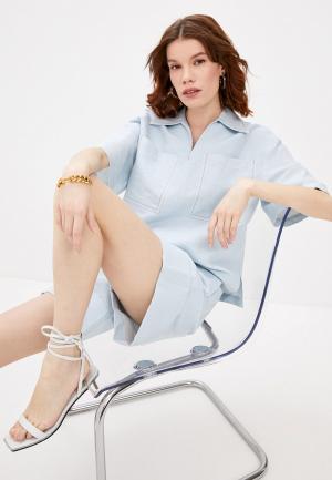 Блуза Beatrice.B. Цвет: голубой