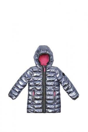 Куртка LEMON. Цвет: серебро