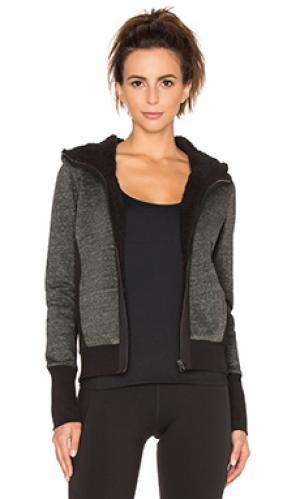 Куртка glacial alo. Цвет: серый