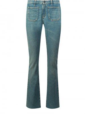 Прямые джинсы YSL