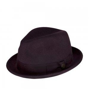 Шляпа хомбург GOORIN BROTHERS. Цвет: фиолетовый