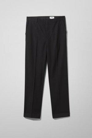 Костюмные брюки Abraham Weekday. Цвет: черный