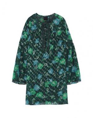 Короткое платье ANNA SUI. Цвет: зеленый