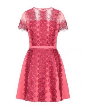Короткое платье ISABEL GARCIA. Цвет: коралловый