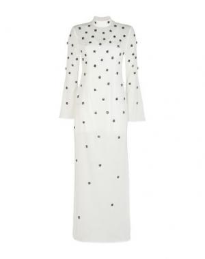 Длинное платье C/MEO COLLECTIVE. Цвет: белый