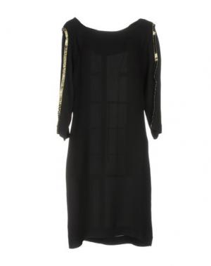 Платье до колена JANICE. Цвет: черный