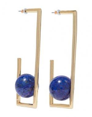 Серьги BEN-AMUN. Цвет: синий