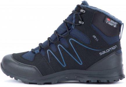 Ботинки утепленные мужские Shallow, размер 40 Salomon. Цвет: черный
