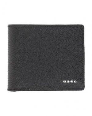 Бумажник TOD'S. Цвет: черный