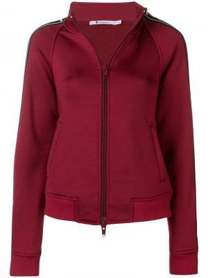 Спортивная куртка с логотипом T By Alexander Wang. Цвет: красный