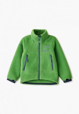 Олимпийка Norveg Warmer. Цвет: зеленый