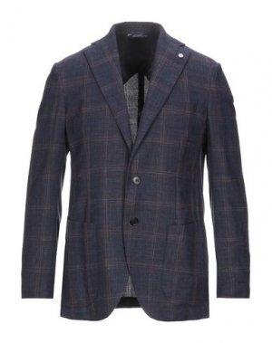 Пиджак GI CAPRI. Цвет: темно-синий